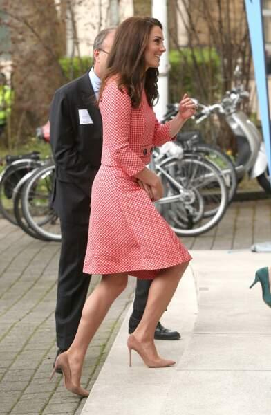 Kate Middleton est connue pour son amour des escarpins nude