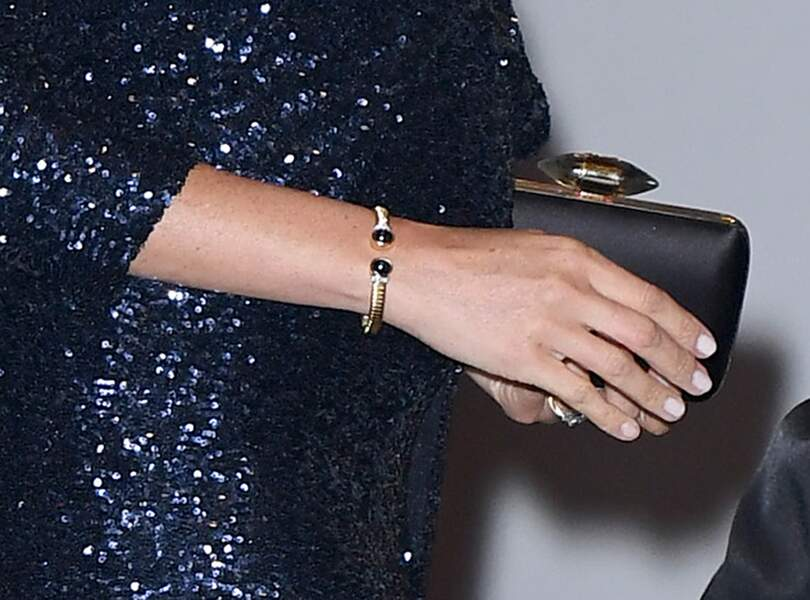 Meghan Markle porte le bracelet qui a appartenu à la princesse Diana
