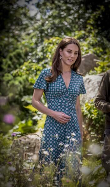 Kate Middleton sublime dans un style très bucolique