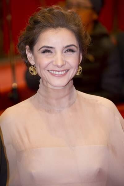Clotilde Courau durant la cérémonie de cloture du 67e Festival international du film de Berlin