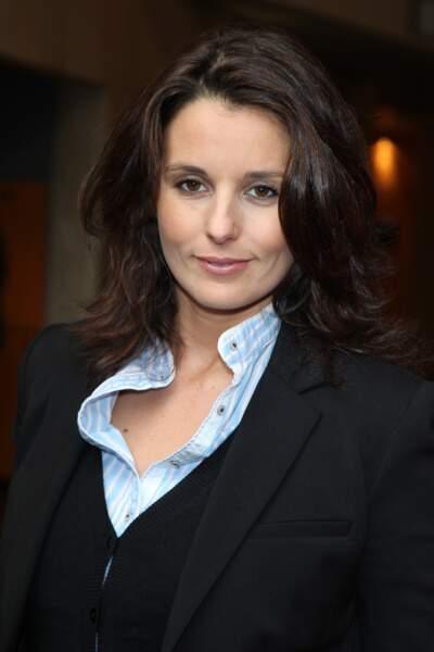 Faustine Bollaert à l'âge de 31 ans à l'Unesco, le 12 Avril 2010