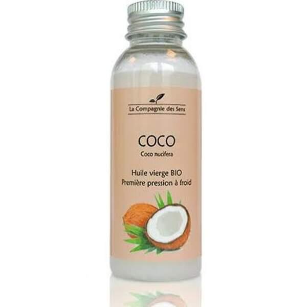 Huile de coco bio, La Compagnie des Sens, 5€