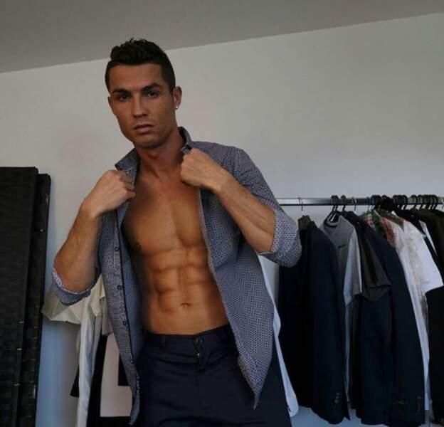 Cristiano, les looks et les muscles