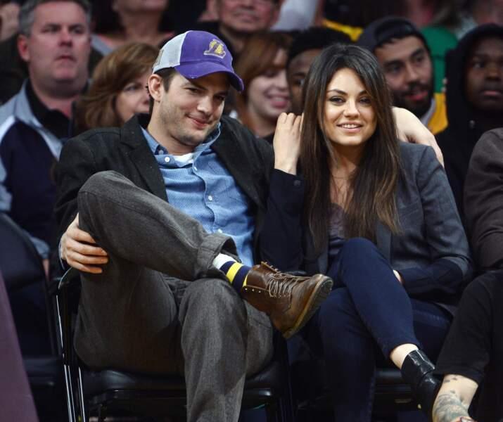 Ashton Kutcher et Mila Kunis se sont mariés au mois de juillet