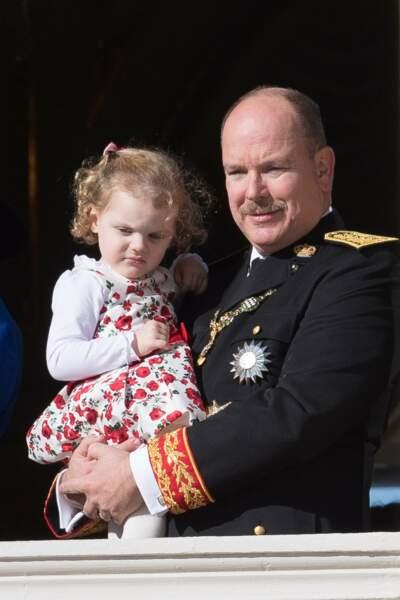 Le prince Albert et la princesse Gabriella de Monaco