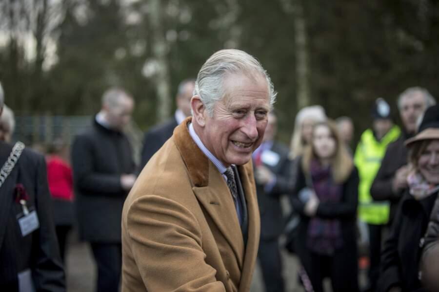 Le prince Charles (décembre 2016).