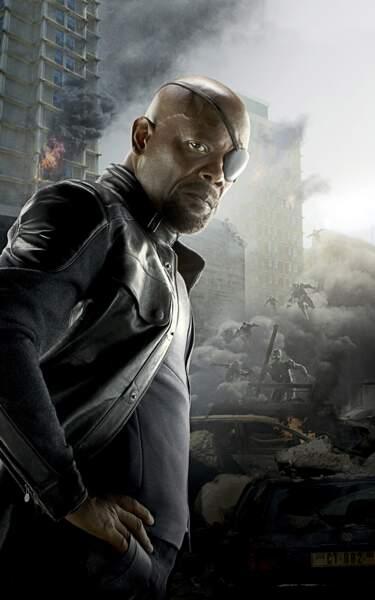 La plus grande force de Nick Fury? Son interprète au cinéma: Samuel L. Jackson.