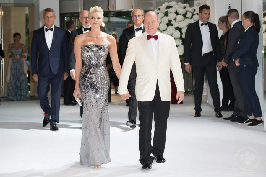 Charlène de Monaco et son époux