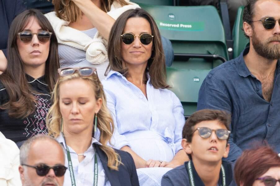 Pippa Middleton fan de tennis