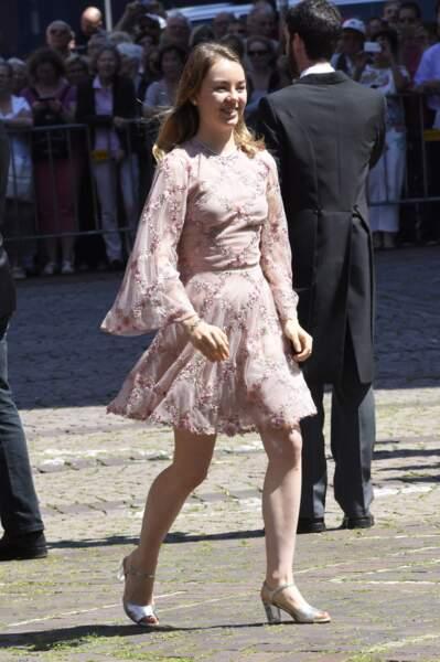 La princesse Alexandra de Hanovre  le 8 juillet 2017