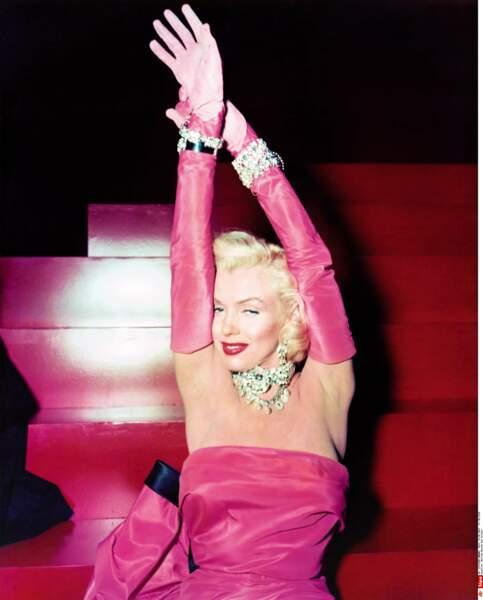 1953, mémorable Marilyn dans Les hommes préfèrent les blondes