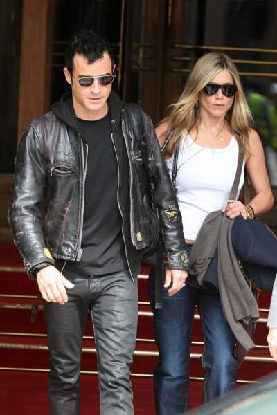 Jennifer Aniston et Justin Theroux apprécient le luxe parisien hébergés au Ritz