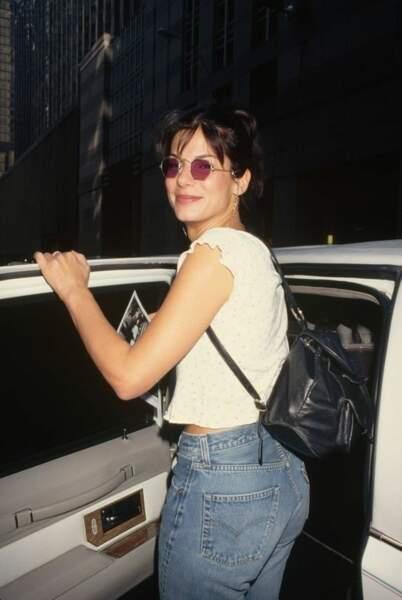 Sandra Bullock à la trentaine