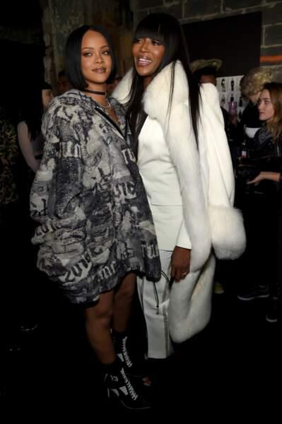 Rihanna et Naomi Campbell