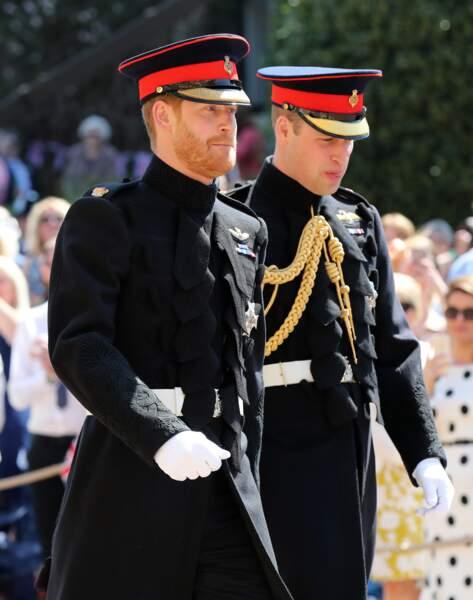 Les princes William et Harry, deux frères très proches