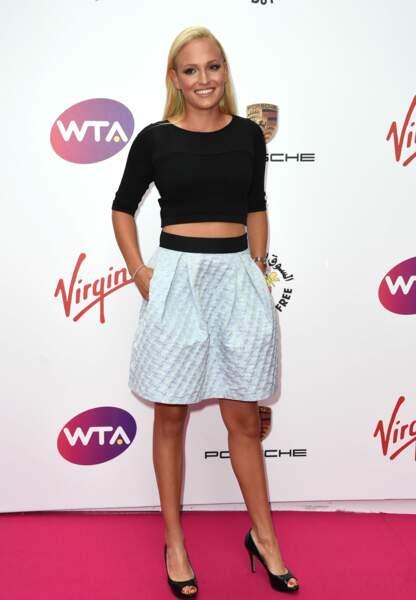Donna Vekic, 20 ans, est la compagne de Stan Wawrinka depuis 2015 ; elle est aussi tenniswoman.