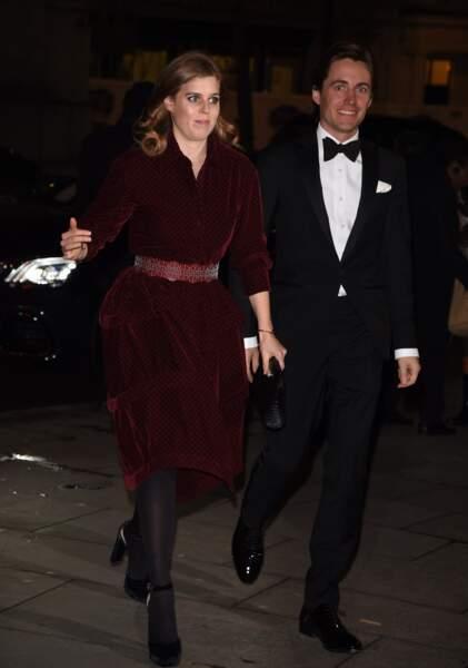 Béatrice d'York aurait présenté Edoard Mapelli Mozzi à ses parents, dès le mois de novembre 2018