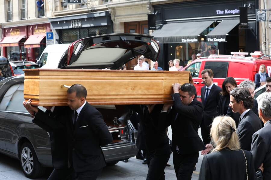 Obsèques de Pierre Bellemare