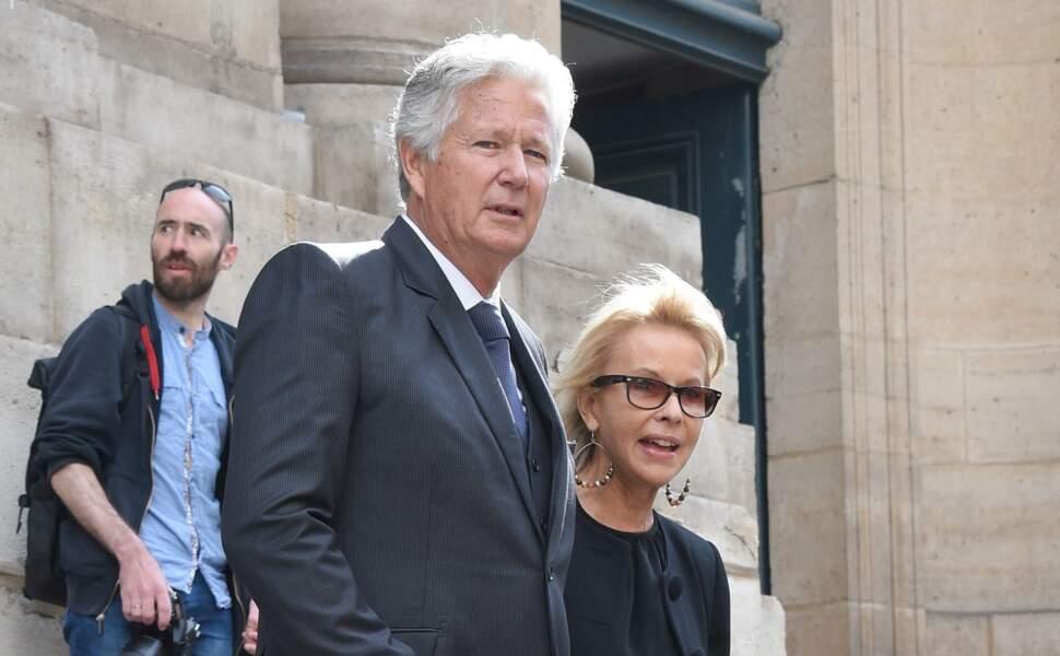 Pierre Dhostel et sa femme Carole Bellemare