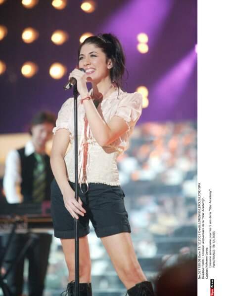"""2005: elle se révèle pop et mystique avec son second album """"Histoires Naturelles"""", travaillé avec Laurent Voulzy"""