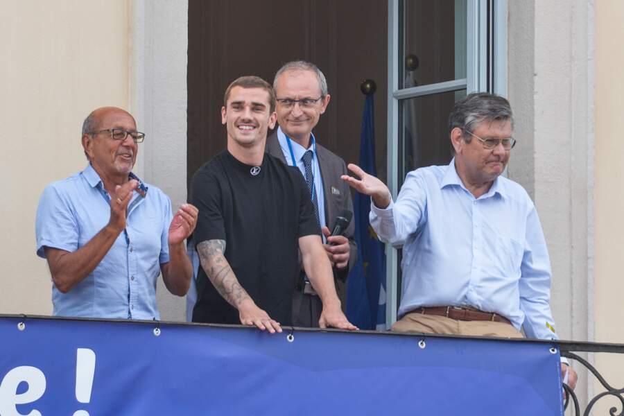 Antoine Griezmann fier de revenir à Mâcon