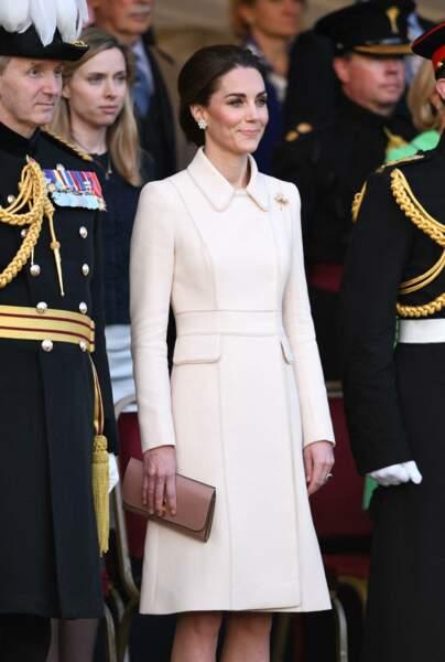 Kate Middleton fait donc très attention à ne pas faire de fashion faux pas