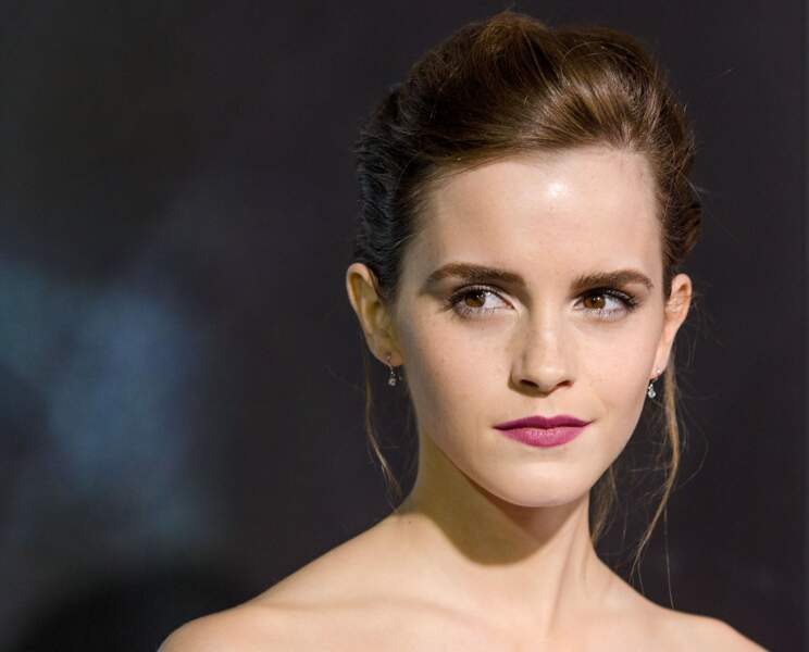 Emma Watson, la reine des chignons en 2013