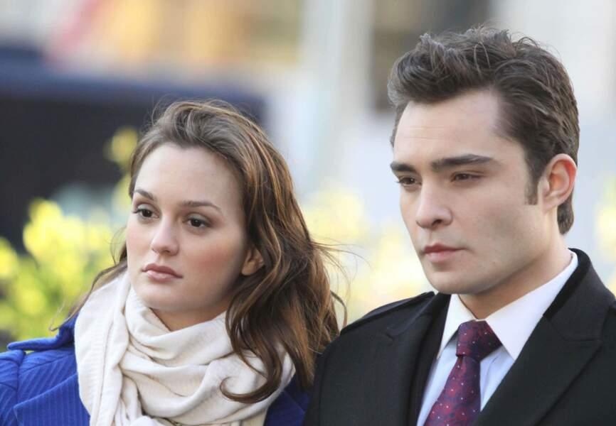 Blair et Chuck dans Gossip Girl