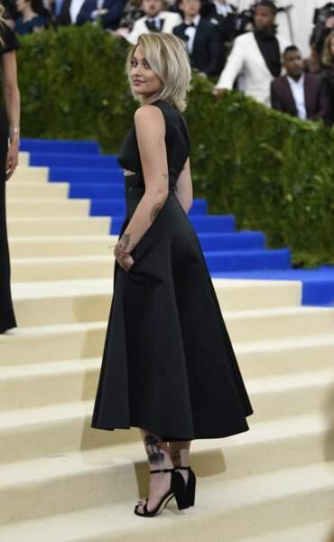 Paris Jackson au gala du Met
