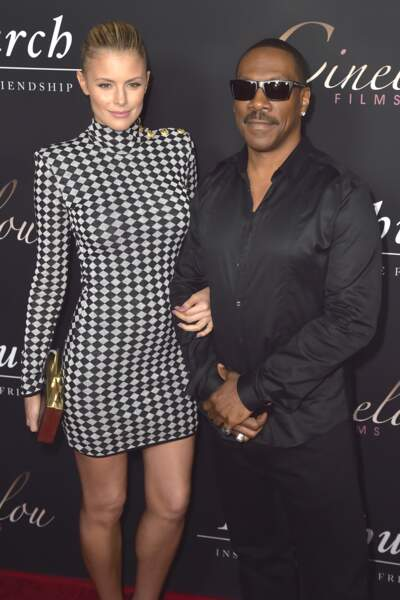 Eddie Murphy et sa compagne Paige Butcher en 2016 à Los Angeles