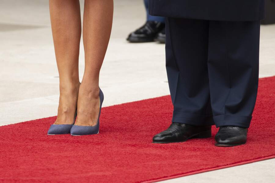 Les chaussures de Melania et Donald Trump