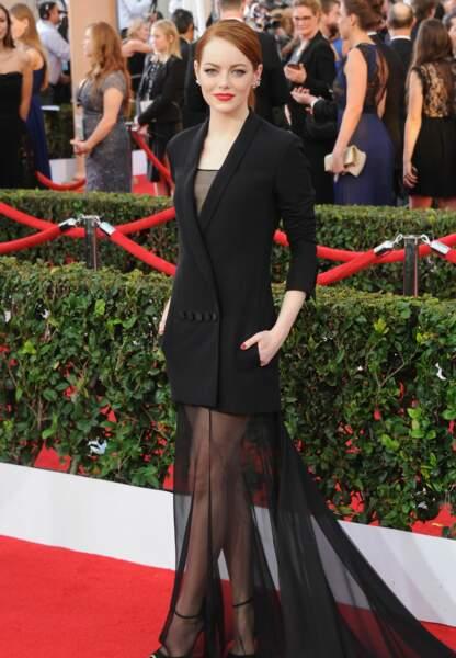 Emma Stone en Christian Dior Couture