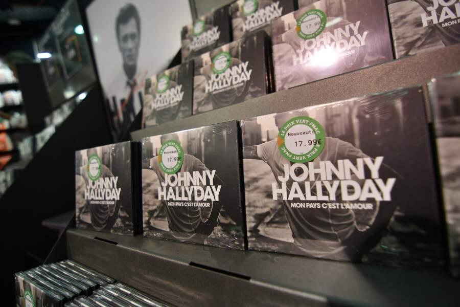 L'album posthume de Johnny Hallyday s'est vendu à plus d'un million d'exemplaires en quelques jours.
