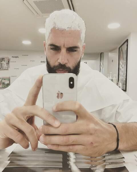 Benoit Paire a partagé sur les réseaux sociaux la photo de son étonnant nouveau look