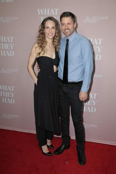 Hilary Swank et Philip Schneider
