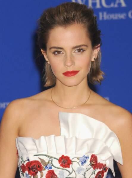 Le carré rock d'Emma Watson