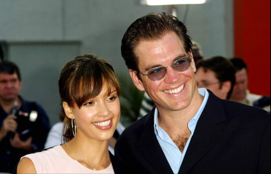 Jessica Alba et Michael Weatherly à Hollywood en 2003