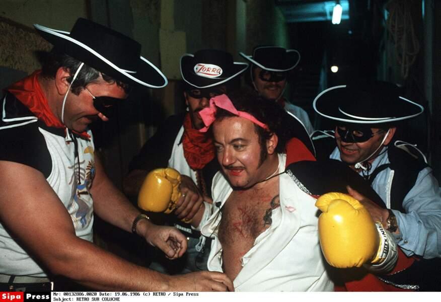 Coluche en 1983
