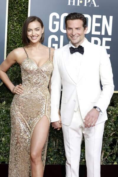 Irina Shayk canon avec un carré tendance et son compagnon Bradley Cooper