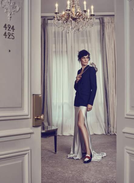 La comédienne Clotilde Hesme, guest-star de notre série mode