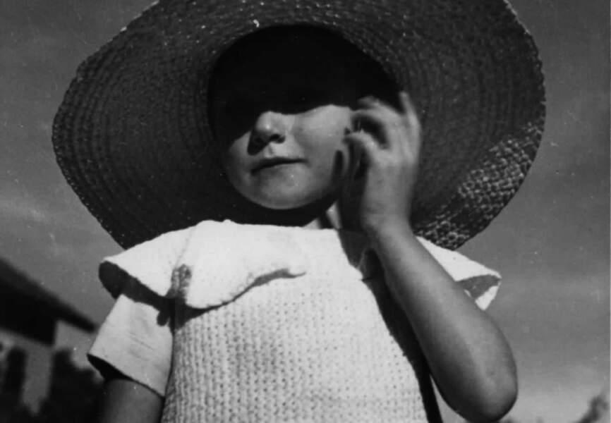 Marisa à l'âge de 4 ans