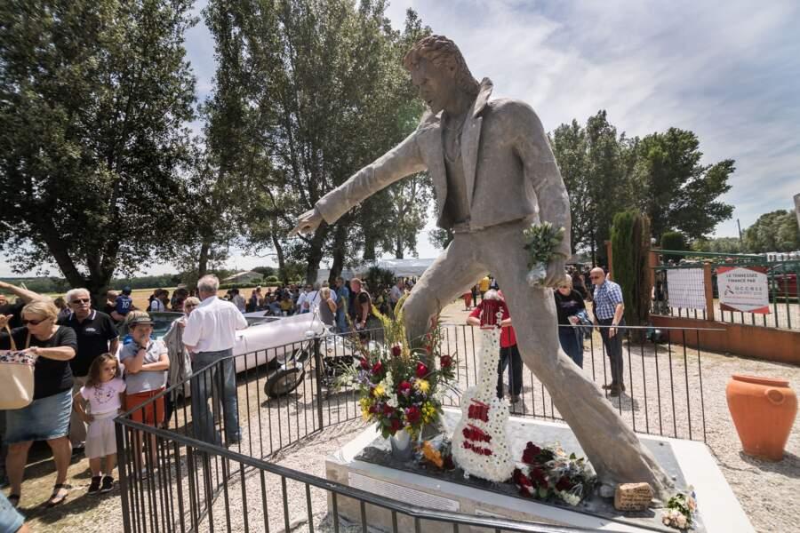 La statue de Johnny Hallyday devrait être un nouveau lieu de recueillement pour ses fans
