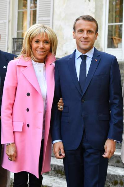 Brigitte et Emmanuel Macron complices pour les Journées Européennes du Patrimoine.