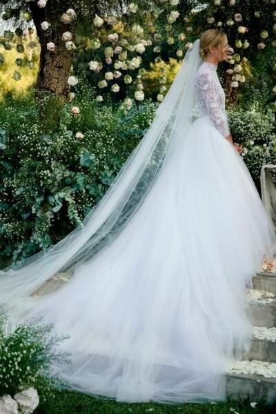 Chiara Ferragni magnifique dans sa robe signée Maria Grazia Chiuri pour Dior