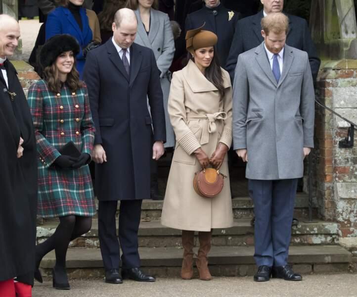 Meghan Markle, pour son premier Noël avec la famille royale, apprend encore le protocole.