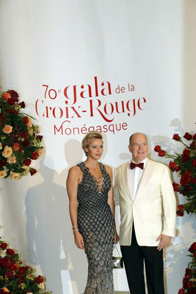 Le prince Albert II et Charlène de Monaco.