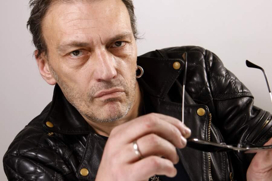 Le musicien Daniel Darc (décédé le 28 février 2013)