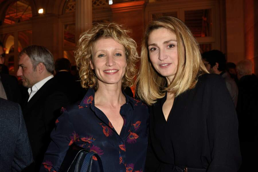 Alexandra Lamy avec Julie Gayet