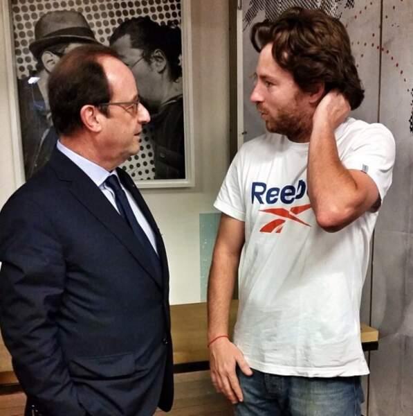 Jean Imbert et François Hollande
