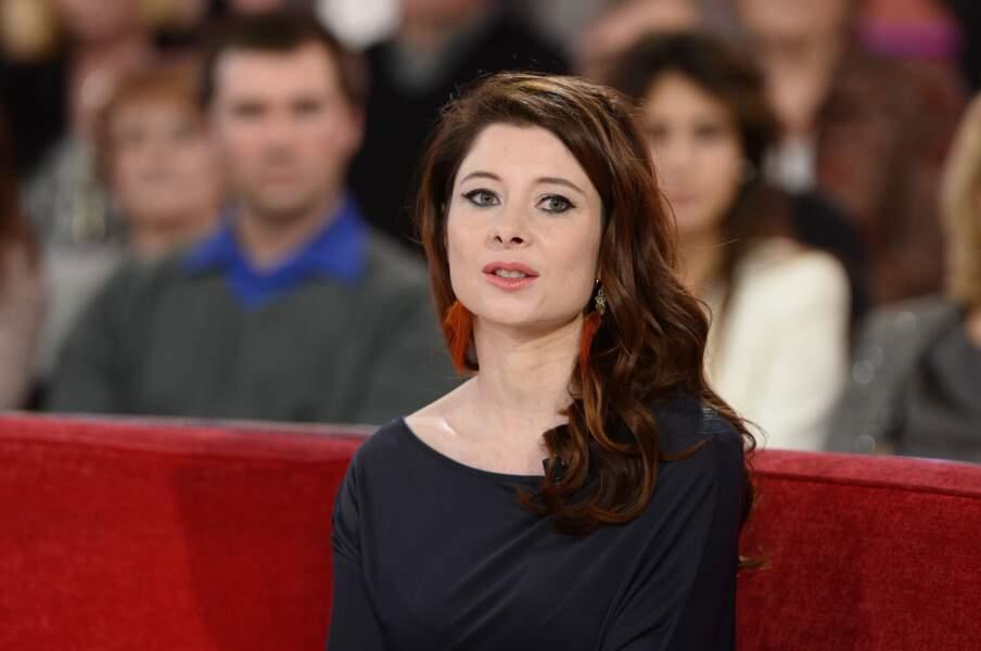 Hélène Grémillon, épouse de Julien Clerc en 2015